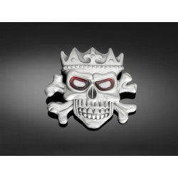 HEBILLA BUCKLE KING SKULL