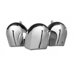 EMBELLECEDOR BOCINA CROMO HARLEY BIG TWIN 76-90