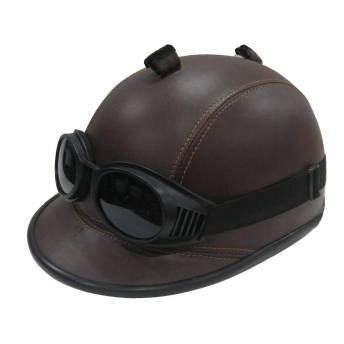 casco-visera-classic-piel-gafas-outlet