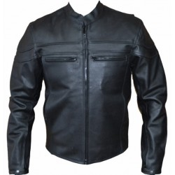 CHAQUETA PIEL AMERICAN II (OUTLET)