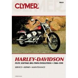 MANUAL REPARACION HARLEY DAVIDSON BIG TWIN BLOQUE MOTOR RIGIDO 8