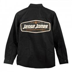 CAMISA JESSE JAMES INDUSTRY WORK LOGO BLACK