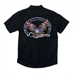 CAMISA LETHAL THREAT USA EAGLE