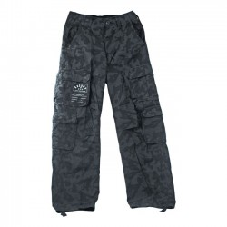 PANTALON STONE WASHED WORK PANTS NIGHT CAMOUFLAJE (OUTLET)
