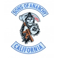 PARCHE SONS OF ANARCHY