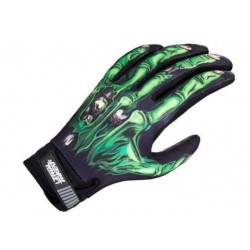 GUANTES LETHAL THREAT SKULL GREEN