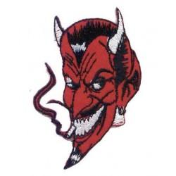 PARCHE SMOKING DEVIL HEAD