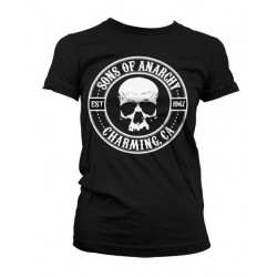 CAMISETA MUJER SONS OF ANARCHY SEAL (OUTLET)