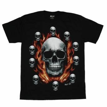 camiseta-wild-glow-flame-skulls