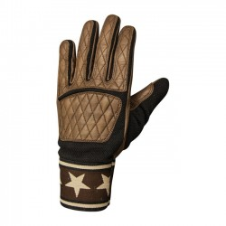 GUANTES ROLAND SANDS PERISTYLE TABACO