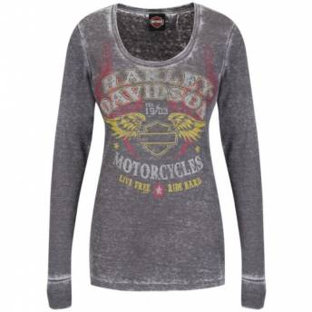 Davidson Camiseta Mujer Redem Harley Classic EEvBSqz