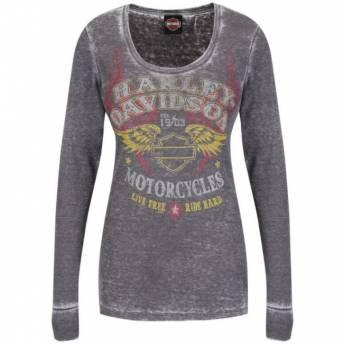 Davidson Classic Harley Redem Mujer Camiseta 0XgwHA