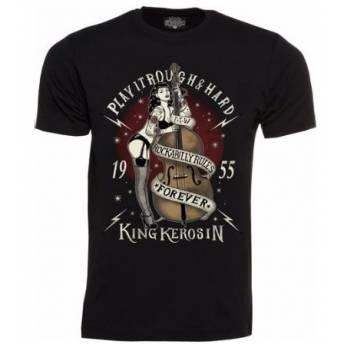 KING KEROSIN T-SHIRT ROUGH & HARD