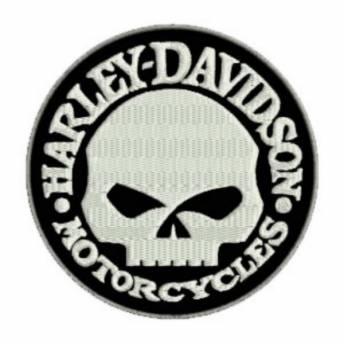 HARLEY DAVIDSON PATCH ROUND 10 CM