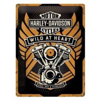 placa-garaje-harley-davidson-special-edition