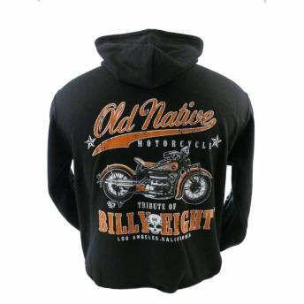 SUDADERA CON CAPUCHA BILLY EIGHT OLD NATIVE
