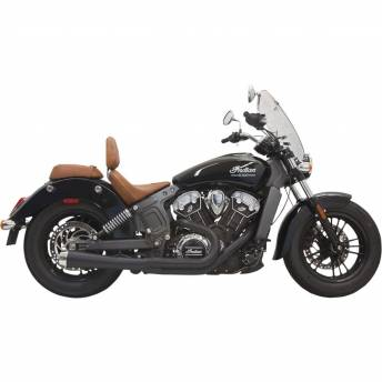 EXHAUST BASSANI ROAD RAGE CHROME SHORT INDIAN SCOUT 15-16