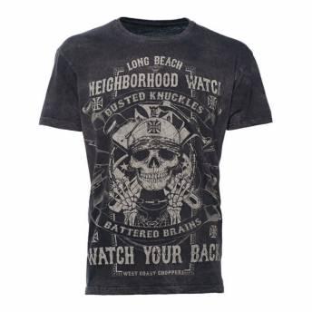 NEIGHBORHOOD WATCH T-SHIRT BLACK