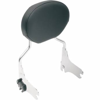 OVAL SISSY BAR PADS FOR HARLEY DAVIDSON TOURING WITH QUICK DISSAMBY 97-15