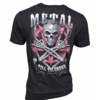 CAMISETA LETHAL THREAT METAL TILL GRAVE