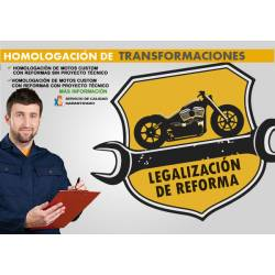 HOMOLOGACIÓN DE TRANSFORMACIONES