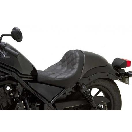 corbin seat gunfighter honda rebel 300 500 17 18. Black Bedroom Furniture Sets. Home Design Ideas