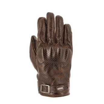 OVERLAP DESMO BROWN GLOVES