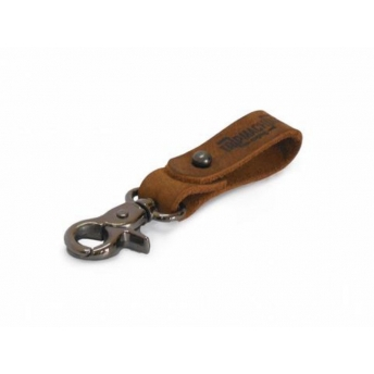 LEATHER KEY HOLDER (VARIOUS COLORS)
