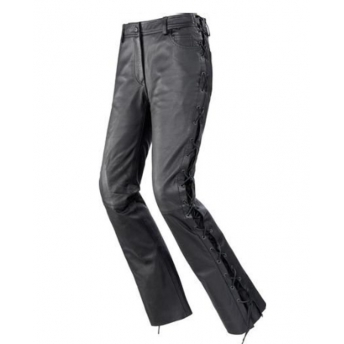 PANTS WOMAN LEATHER HIGHWAY 1 DORO