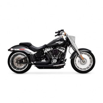 ESCAPE SHORTSHOTS STAGGERED NEGRO HARLEY SOFTAIL 18-UP