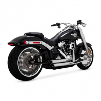 ESCAPE SHORTSHOTS STAGGERED CROMADO HARLEY SOFTAIL 18-UP