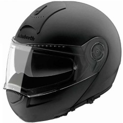 CASCO MODULAR SCHUBERTH C3 NEGRO BRILLO (OUTLET)