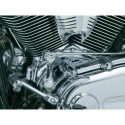 CHROME TRIM CYLINDER BASE COVER HD SOFTAIL 07-UP
