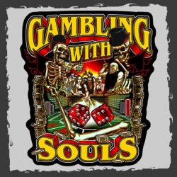 """PARCHE GAMBLING WITH SOULS 12"""""""