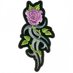 """PARCHE PINK TRIBAL ROSE 8"""""""
