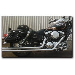 ESCAPE YAMAHA XVS1100 WARLORD LONG CANNON 98-08