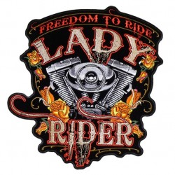 """PARCHE FREEDOM TO RIDE 4"""""""