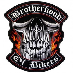 "PARCHE BROTHERHOOD OF BIKERS 4"""
