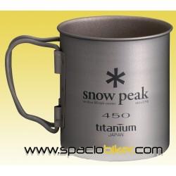 TAZA DE SNOW PEAK PARED SIMPLE 450 ML