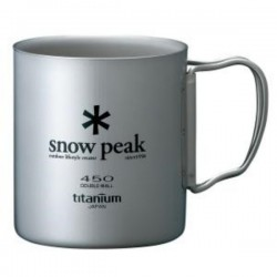 TAZA DE SNOW PEAK PARED DOBLE 450 ML