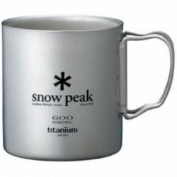 TAZA DE SNOW PEAK PARED DOBLE 600 ML