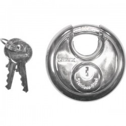 STAINLESS STEEL LOCKS OF HIGH SECURITY 70 MM.