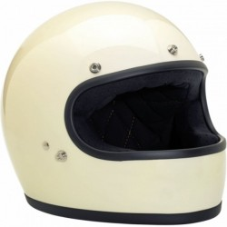 CASCO INTEGRAL BILTWELL GRINGO BLANCO BRILLO