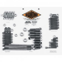 12-POINT SCREWS KIT HARLEY DAVIDSON FLHT, FLHX, FLHR, FLTR, 07-13