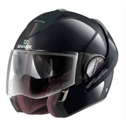 CASCO INTEGRAL SHARK EVOLINE 3 NEGRO BRILLO