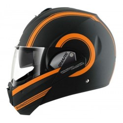 CASCO INTEGRAL SHARK EVOLINE 3 MOOVIT NEGRO