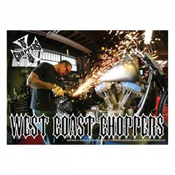POSTER WEST COAST CHOPPERS 84x59.5