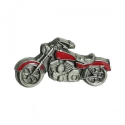 PIN MOTORCYCLE RED