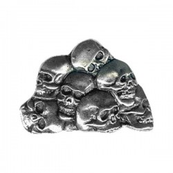 PIN HEAP OF SKULL