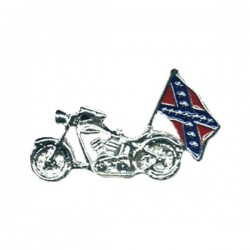 PIN MOTORCYCLE WITH REBEL
